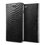 VRS DESIGN PYTHON diary for iPhone6/6s (Black)