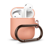 elago AIRPODS HANG CASE 2019 for AirPods (Peach)