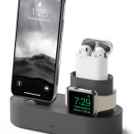 elago Charging Hub for iPhone / AirPods / Apple Watch (Dark Grey)