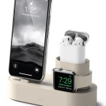 elago Charging Hub for iPhone / AirPods / Apple Watch (Classic White)