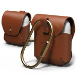 elago AIRPODS LEATHER CASE for AirPods (Brown)