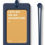 elago LUGGAGE TAG for LUGGAGE TAG (Jean indigo)