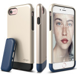 elago S7 GLIDE for iPhone7 (Champagne Gold+Jean Indigo)