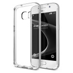 VERUS Crystal Bumper for GALAXY S7 (Light Silver)