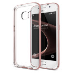 VERUS Crystal Bumper for GALAXY S7 (Rose Gold)