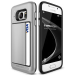VERUS Damda Clip for GALAXY S7 (Light Silver)