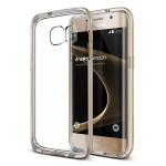 VERUS Crystal Bumper for GALAXY S7 Edge (Shine Gold)