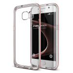 VERUS Crystal Bumper for GALAXY S7 Edge (Rose Gold)