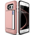 VERUS Damda Clip for GALAXY S7 Edge (Rose Gold)