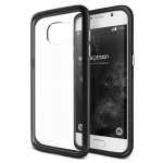 VERUS Crystal MIXX for GALAXY S7 Edge (Black)