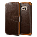 VERUS Dandy Layered Leather for GALAXY S7 (Dark Brown+Brown)