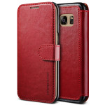 VERUS Dandy Layered Leather for GALAXY S7 Edge (Wine+Black)