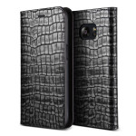 VERUS Genuine Croco diary for GALAXY S7 (Dark Silver)