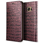 VERUS Genuine Croco diary for GALAXY S7 Edge (Rose Pink)