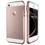 VERUS Crystal Bumper for iPhone SE (Rose Gold)