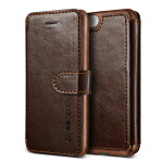VERUS Dandy Layered Leather for iPhone SE/5s/5 (Dark Brown+Brown)