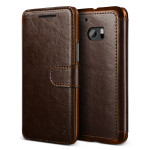 VERUS Dandy Layered Leather for HTC 10 (Dark Brown+Brown)
