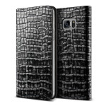 VERUS Genuine Croco diary for GALAXY Note 7 (Dark Silver)