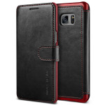 VERUS Dandy Layered Leather for GALAXY Note 7 (Black+Wine)