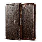 VERUS Dandy Layered Leather for iPhone7 (Dark Brown+Brown)