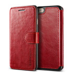 VERUS Dandy Layered Leather for iPhone7 (Wine+Black)