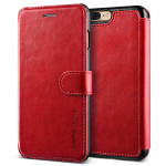 VERUS Dandy Layered Leather for iPhone7 Plus (Wine+Black)
