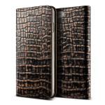 VERUS Genuine Croco diary for iPhone7 (Dark Gold)