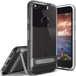 VERUS Crystal Bumper Plus for Google Pixel (Dark Silver)
