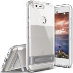 VRS DESIGN Crystal Bumper Plus for Google Pixel XL (Light Silver)