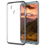 VRS DESIGN Crystal Bumper for LG G6 (Dark Silver)