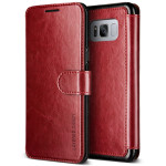 VERUS Dandy Layered for Galaxy S8 (Wine+Black)