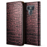VERUS Genuine Croco diary for LG G6 (Rose Pink)