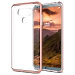 VERUS Crystal Bumper for LG G6 (Rose Gold)