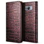 VERUS Genuine Croco diary for Galaxy S8 (Rose Pink)