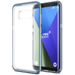 VERUS Crystal Bumper for Galaxy S8 (Blue Coral)