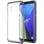 VERUS Crystal Bumper for Galaxy S8 (Orchid Gray)