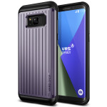 VERUS HARD DROP for Galaxy S8 (Waved Orchid Gray)