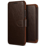 VRS DESIGN Layered Dandy  for iPhoneX (Dark Brown+Brown)