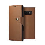 VRS DESIGN(VERUS) Daily Diary for Galaxy Note 8 (Brown)