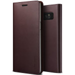 VRS DESIGN(VERUS) Genuine Leather Diary for Galaxy Note 8 (Wine)