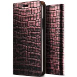 VRS DESIGN Genuine Croco Diary for iPhoneX (Rose Pink)