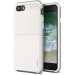 VRS DESIGN High Pro Shield - S for iPhone8 (White & Silver)