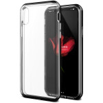 VRS DESIGN Crystal Bumper (MIL) for iPhoneX (Metal Black)
