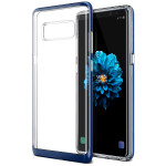 VRS DESIGN(VERUS) Crystal Bumper for Galaxy Note 8 (Deep Sea Blue)