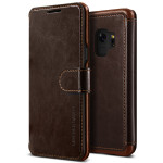 VRS DESIGN(VERUS) Layered Dandy for Galaxy S9 (Dark Brown)