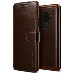 VRS DESIGN(VERUS) Layered Dandy for Galaxy S9 Plus (Dark Brown)