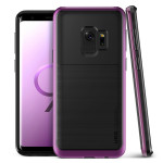 VRS DESIGN(VERUS) High Pro Shield for Galaxy S9 (Purple)