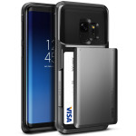 VRS DESIGN(VERUS) Damda Glide for Galaxy S9 (Steel Silver)