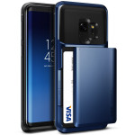 VRS DESIGN(VERUS) Damda Glide for Galaxy S9 (Deep Sea Blue)