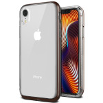 VRS DESIGN(VERUS) Crystal Bumper 2018 for iPhoneXR (Brown)
